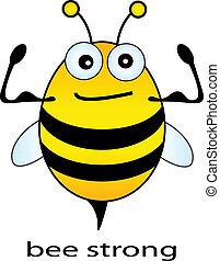 silny, pszczoła
