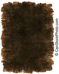 skóra, starożytny, pergamin, tło, struktura