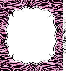 skóra, struktura, abstrakcyjny, zebra, wektor, ułożyć
