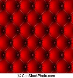 skórzane krycie, stary, czerwony