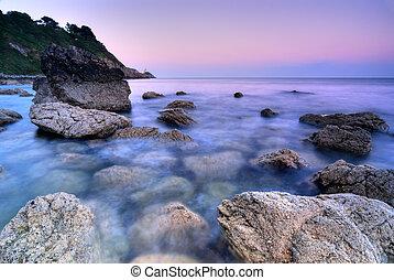 skalisty, irlandia, coastline
