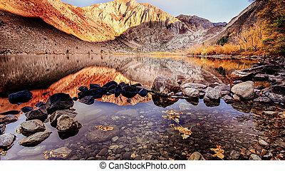 skalisty, jezioro