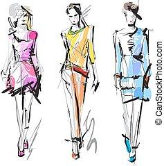 sketch., fason, models.