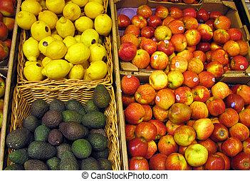 sklep, owoc