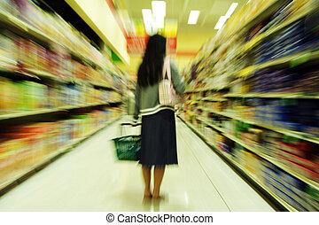 sklep spożywczy shopping
