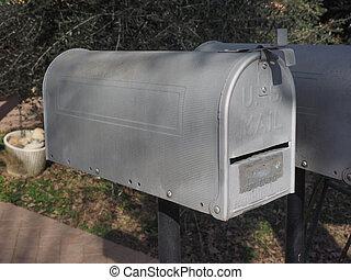 skrzynka pocztowa, zatwierdzony, na