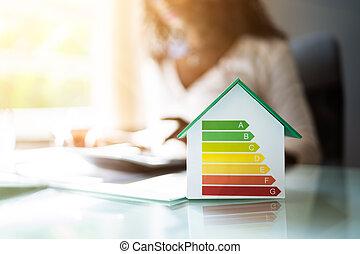 skuteczny, energia, dom, kalkulator