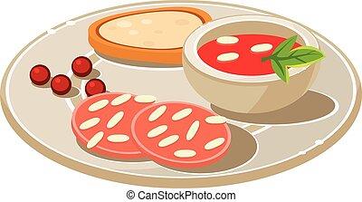 smakowity, udział, soum, bread