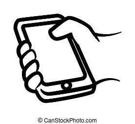 smartphone, projektować