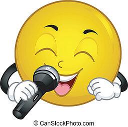 smiley, śpiew