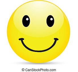 smiley, ikona