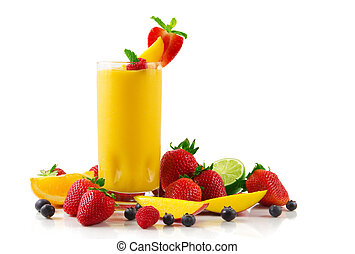 smoothie, mangowiec