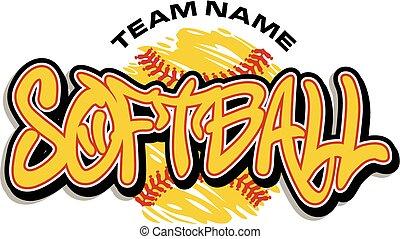softball, projektować