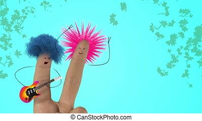 song., włochaty, miłość, joke., list miłosny, punk, color., włosy, palec, śpiewać, dzień, człowiek