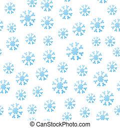 spadanie, seamless, płatki śniegu