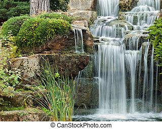 spokojny, wodospad