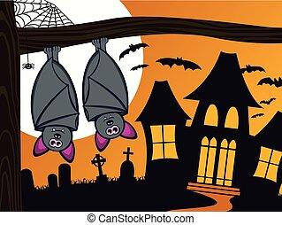 spooky, halloween, gacki