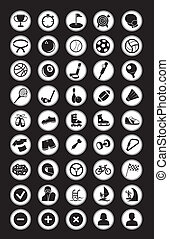 sport, ikony