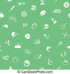 sport, seamless, tło, struktura