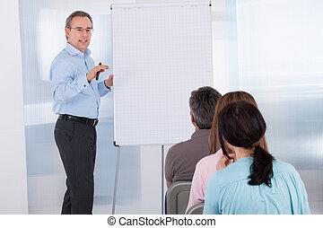 spotkanie, businesspeople