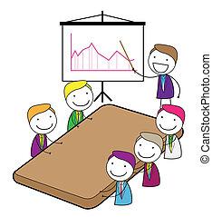 spotkanie, prezentacja
