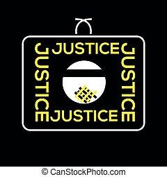 sprawiedliwość, nie, świat, obsłużony, gdzie