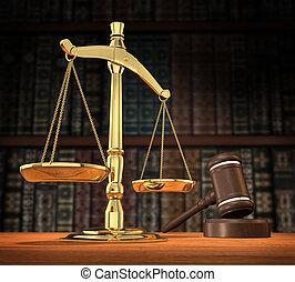 sprawiedliwość, obsłużony