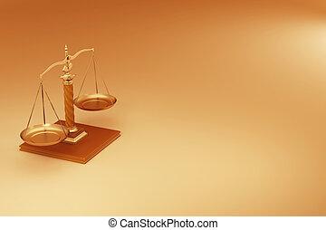 sprawiedliwość, scale., symbol