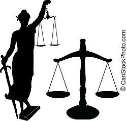 sprawiedliwość, waga, statua