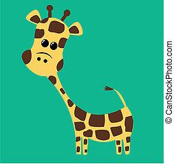 sprytny, żyrafa