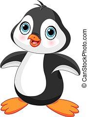 sprytny, pingwin