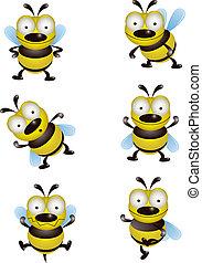 sprytny, zbiór, pszczoła