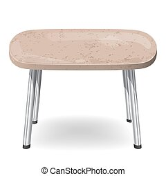 stół, kamień, nowoczesny