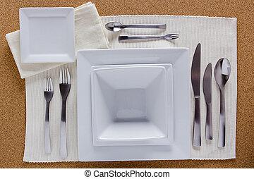 stół, skwer, zmontowanie, opcja, płyty