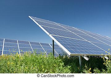 stacja, moc słoneczności
