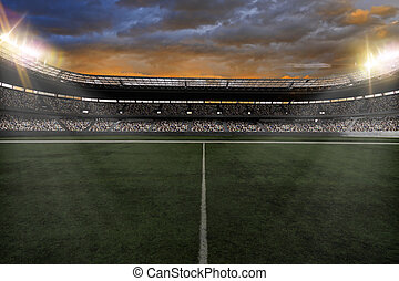 stadion, piłka nożna