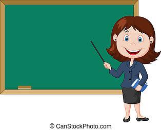 stanie samica, rysunek, nex, nauczyciel
