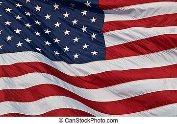 stany, flag., zjednoczony, ameryka