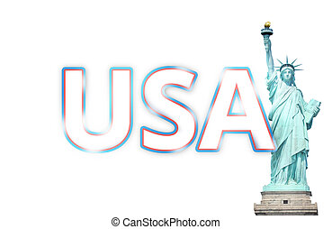 stany, zjednoczony, ameryka