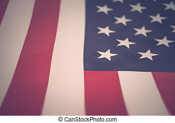 stany, zjednoczony, bandera, ameryka
