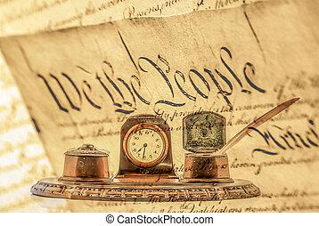 stany, zjednoczony, deklaracja, niezależność