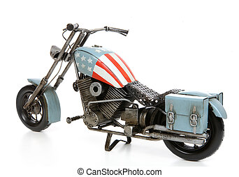 stany, zjednoczony, motocykl, themed