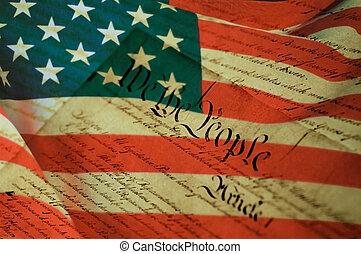 stany, zjednoczony, niezależność, deklaracja