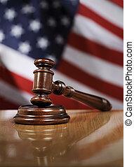 stany, zjednoczony, prawo