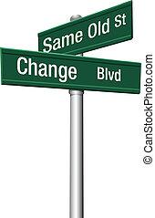 stary, decyzja, tak samo, ulica, typować, albo, zmiana