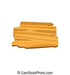 stary, drewniany, wiadomości, deska, chorągwie, albo