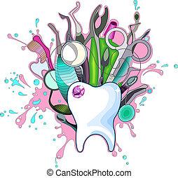 stomatologiczne instrumenty