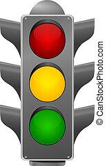 stoplight., wektor