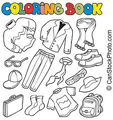 strój, 1, koloryt książka