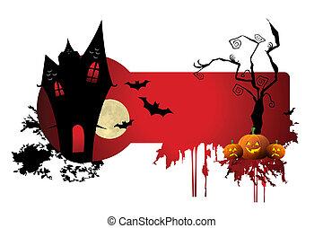 straszliwy, halloween noc